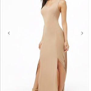 🎉{x2 H o s t P i c k} Forever 21 M-Slit Dress